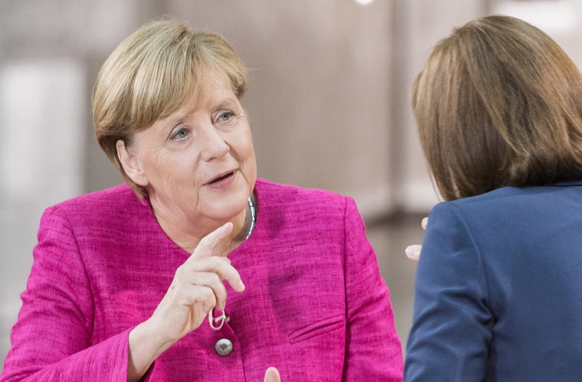 Kanclerz Niemiec Angela Merkel /JULE ROEHR / ZDF /PAP/EPA