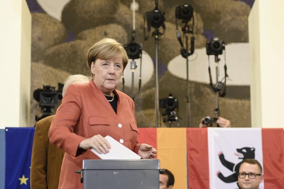 Kanclerz Niemiec Angela Merkel /Clemens Bilan /PAP/EPA