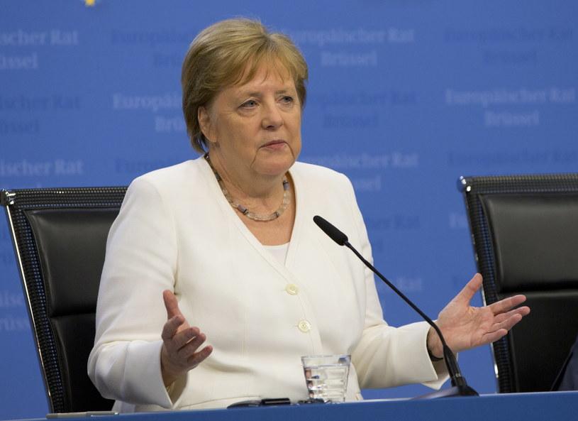 Kanclerz Niemiec Angela Merkel /OLIVIER HOSLET /PAP/EPA