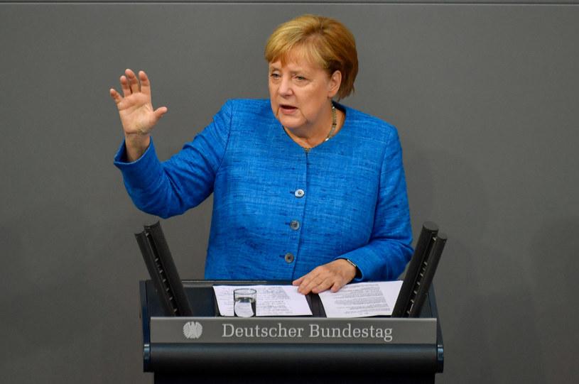 Kanclerz Niemiec Angela Merkel /JOHN MACDOUGALL / AFP /AFP