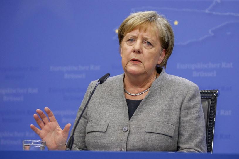Kanclerz Niemiec Angela Merkel /JULIEN WARNAND /PAP/EPA