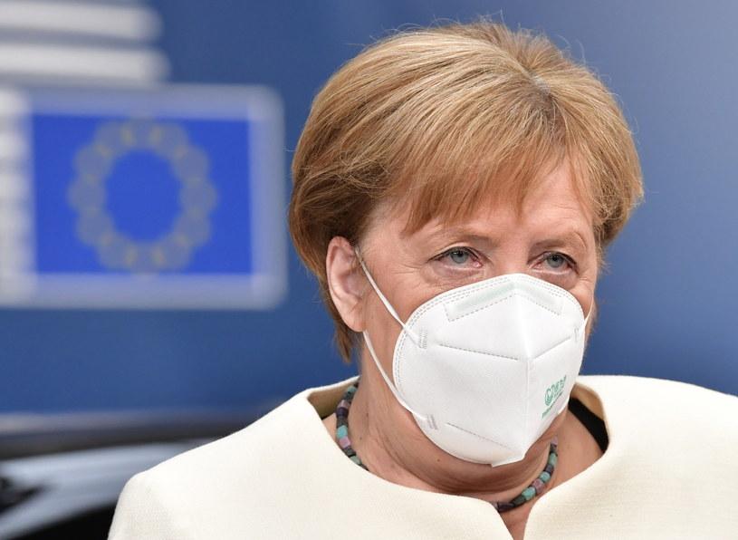 Kanclerz Niemiec Angela Merkel /JOHN THYS /PAP/EPA