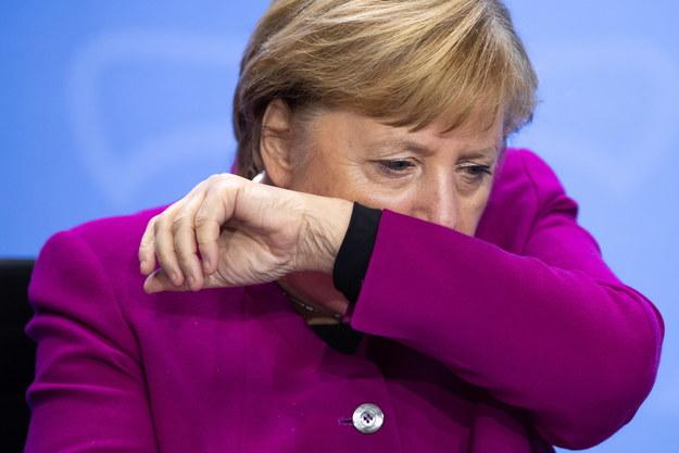 Kanclerz Niemiec Angela Merkel /HAYOUNG JEON / POOL /PAP/EPA