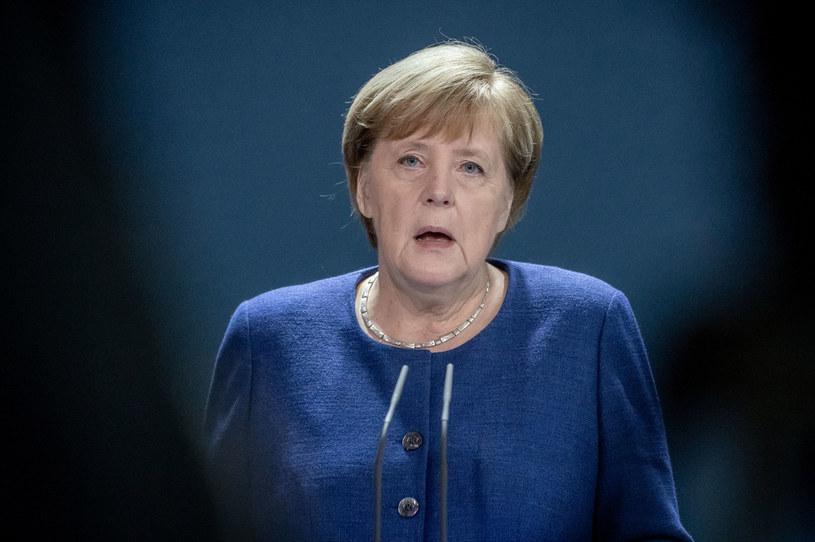 Kanclerz Niemiec Angela Merkel /MICHAEL KAPPELER /AFP