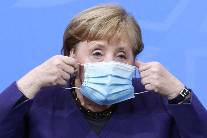 Kanclerz Niemiec Angela Merkel /CHRISTIAN MARQUARDT / POOL /PAP/EPA