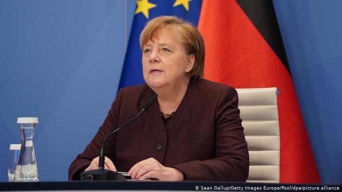 Kanclerz Niemiec Angela Merkel /Sean Gallup/Getty Images Europe/Pool/dpa/picture alliance /Deutsche Welle