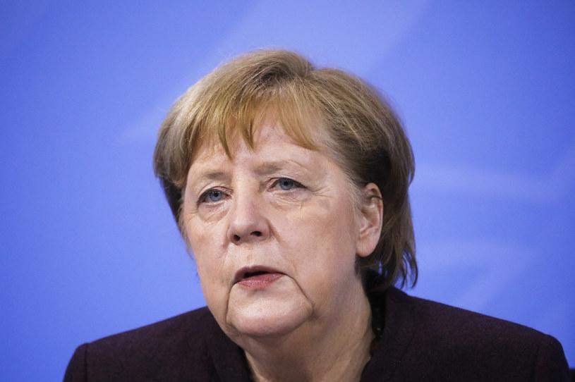 Kanclerz Niemiec Angela Merkel /Markus Schreiber /AFP