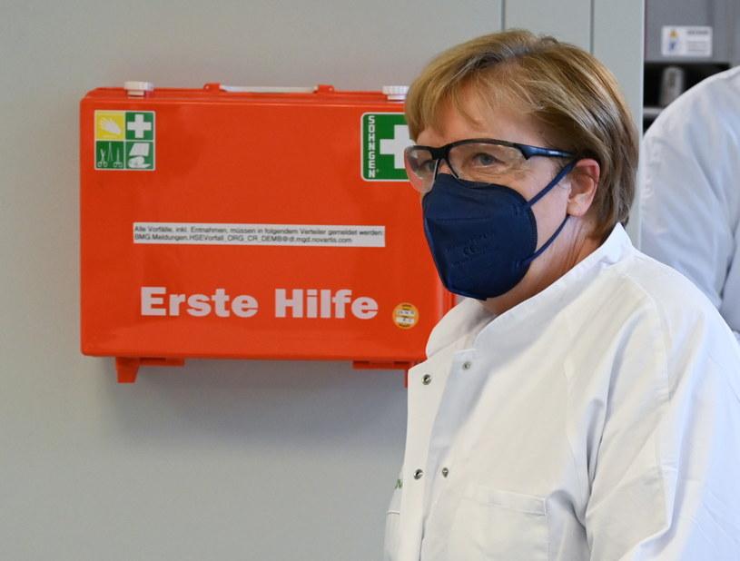 Kanclerz Niemiec Angela Merkel /Arne Dedert/POOL /PAP/EPA
