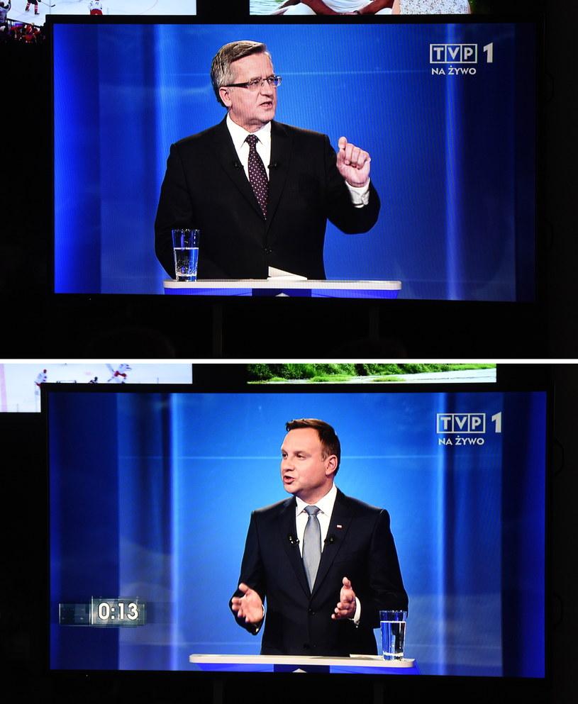 Kandydaci debatują /Radek Pietruszka /PAP