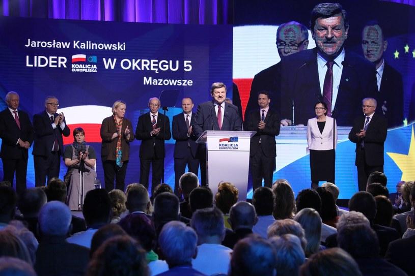 Kandydaci Koalicji Europejskiej /Piotr Molecki /East News