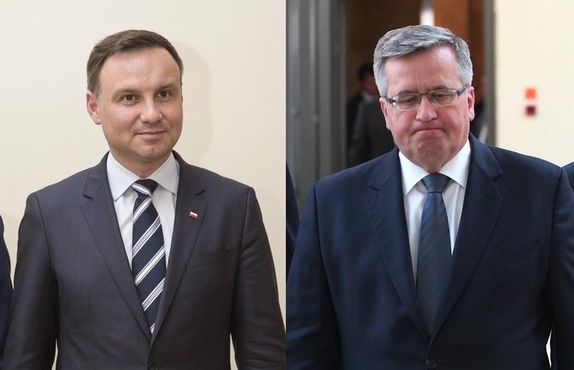 Kandydaci na prezydenta: Andrzej Duda i Bronisław Komorowski /Leszek Kotarba/Stanisław Kowalczuk /East News