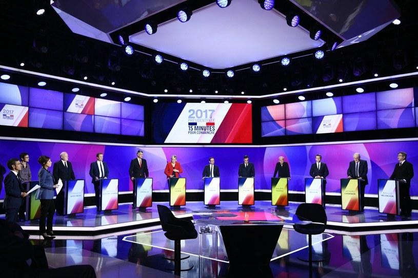 Kandydaci na prezydenta Francji /MARTIN BUREAU /PAP/EPA