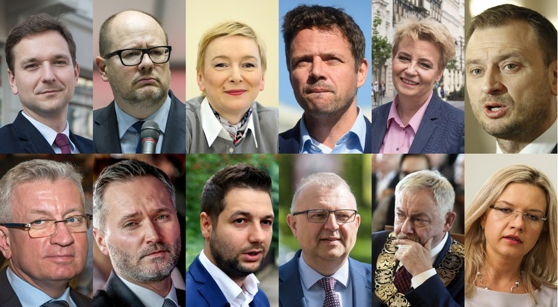 Kandydaci na prezydentów /fot. M. Zubrzycki/W. Stróżyk/ S. Kowalczuk/Z. Kaczmarek/ M. Zubrzycki/S. Maszewski/M. Woźniak/K. Misztal/M. Grzelak/K. Kaniewski/M. Lasyk/A. Hulimka /East News