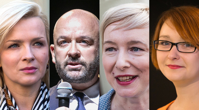 Kandydaci we Wrocławiu: Katarzyna Obara-Kowalska, Jacek Sutryk, Mirosława Stachowiak-Różecka i Małgorzata Tracz /East News