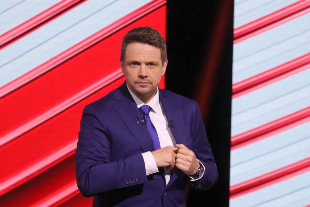 Kandydat Koalicji Obywatelskiej, prezydent Warszawy Rafał Trzaskowski /Paweł Supernak /PAP