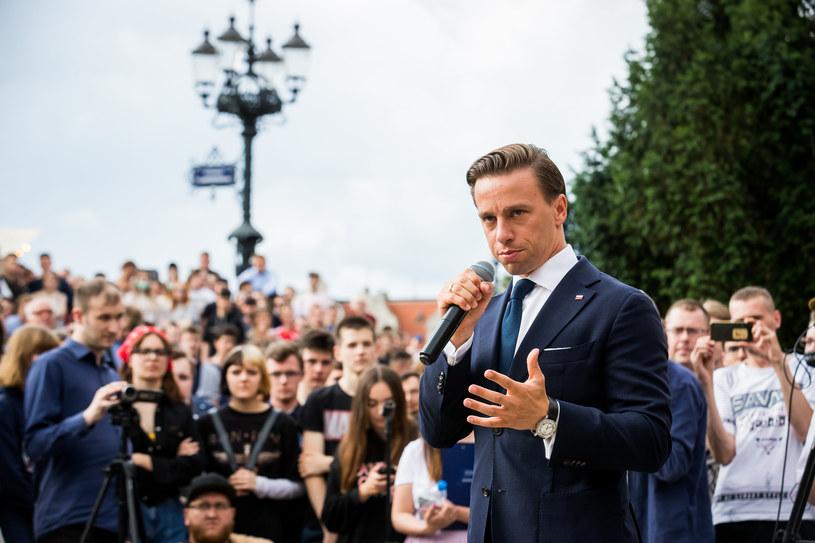 Kandydat Konfederacji na prezydenta Krzysztof Bosak /FOT: TOMASZ CZACHOROWSKI/POLSKA PRESS/GALLO IMAGES /Getty Images