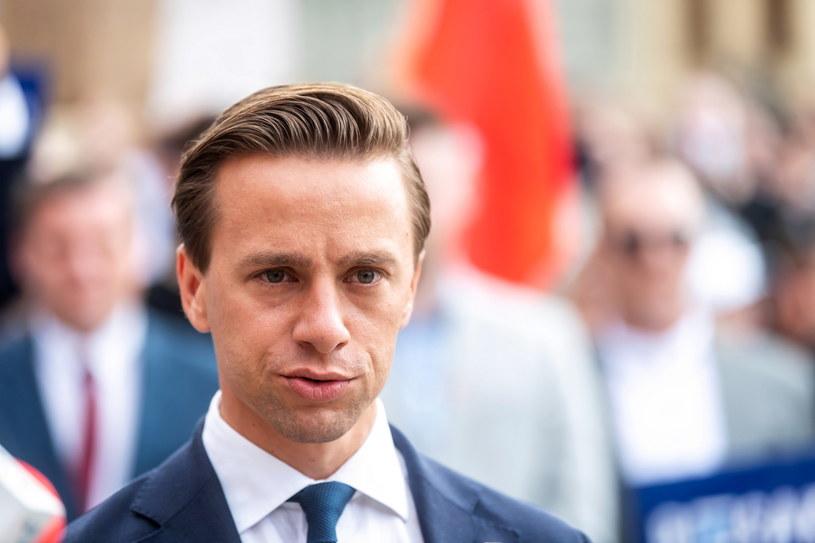 Kandydat Konfederacji w wyborach prezydenckich Krzysztof Bosak / Tytus Żmijewski    /PAP