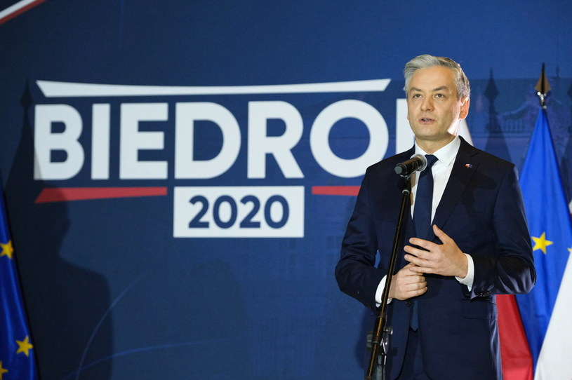 Kandydat Lewicy na urząd prezydenta RP, lider Wiosny Robert Biedroń /Mateusz Marek /PAP