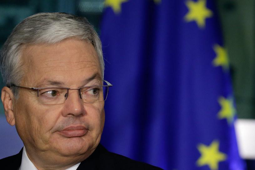 Kandydat na komisarza UE ds. sprawiedliwości Didier Reynders /ARIS OIKONOMOU /AFP