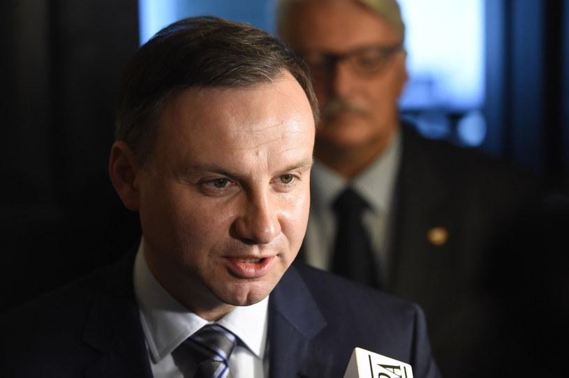Kandydat na prezydenta RP Andrzej Duda /Radek Pietruszka /PAP