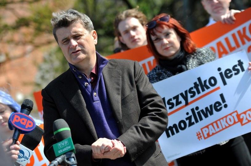 Kandydat na prezydenta RP Janusz Palikot /Marek Lasyk  /Reporter