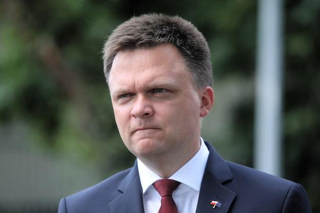Kandydat na prezydenta RP Szymon Hołownia /Wojciech Olkuśnik /PAP