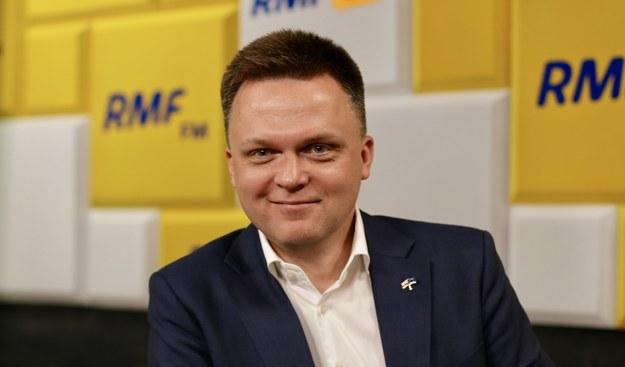 Kandydat na prezydenta, Szymon Hołownia /Karolina Bereza /RMF FM