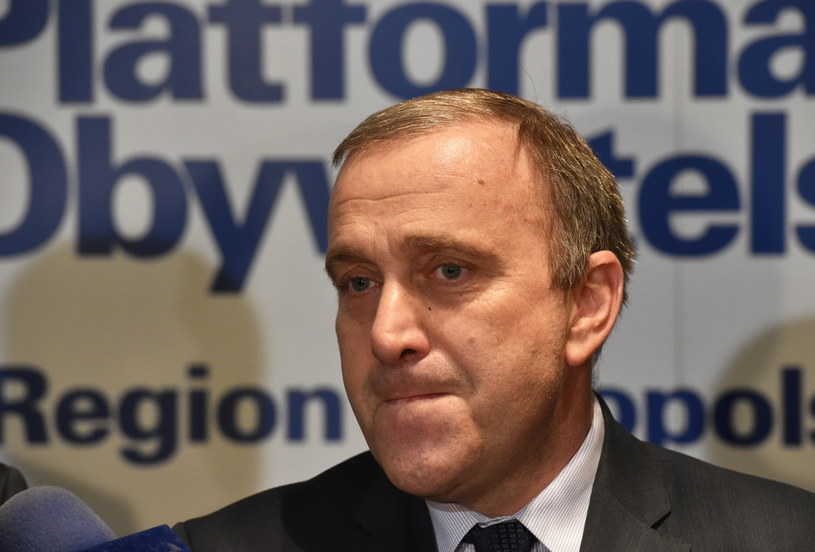 Kandydat na przewodniczącego Platformy Obywatelskiej Grzegorz Schetyna /Jacek Bednarczyk /PAP