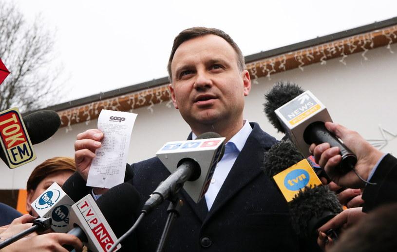 Kandydat PiS na prezydenta Andrzej Duda /Grzegorz Momot /PAP