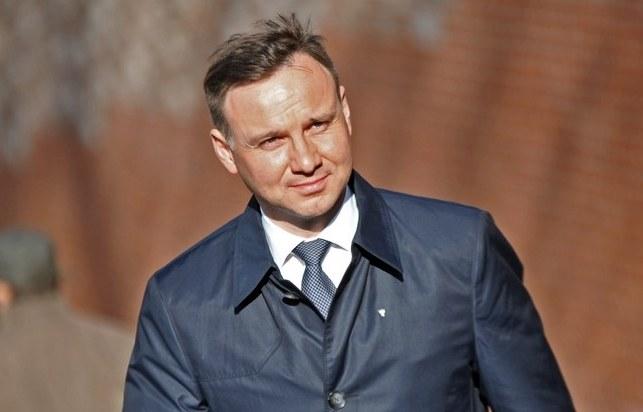 Kandydat PiS na prezydenta Andrzej Duda /M. Lasyk /Reporter