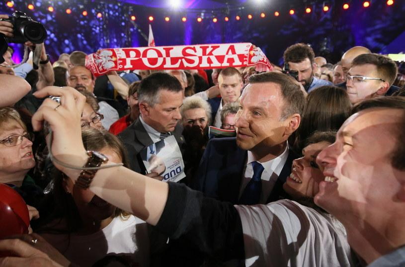 Kandydat PiS na prezydenta Andrzej Duda /Paweł Supernak /PAP