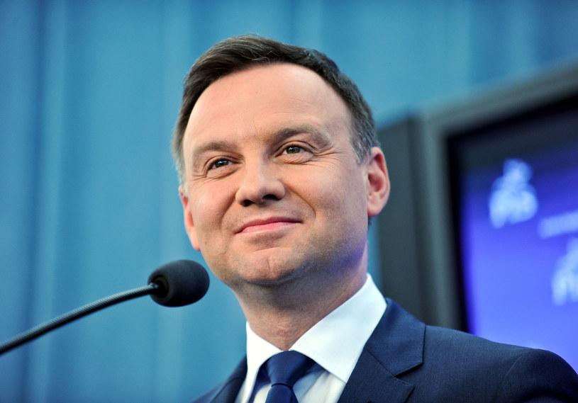 Kandydat PiS na prezydenta RP europoseł Andrzej Duda /Marcin Obara /PAP