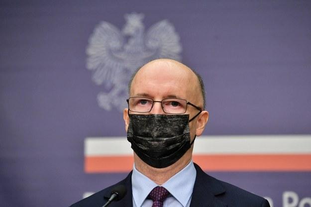 Kandydat PiS na RPO Piotr Wawrzyk /Radosław Pietruszka /PAP