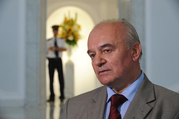 Kandydat PSL na ministra rolnictwa Stanisław Kalemba /fot. Grzegorz Jakubowski /PAP