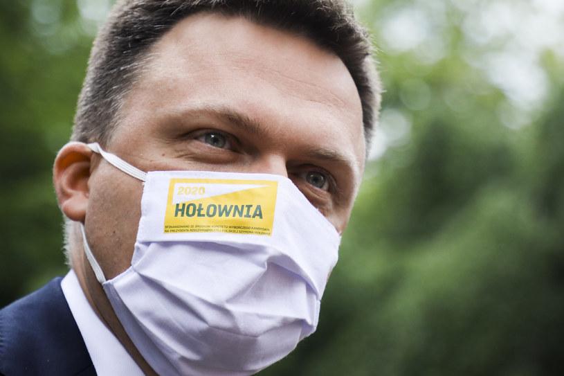 Kandydat w wyborach prezydenckich Szymon Hołownia /Beata Zawrzel /Reporter