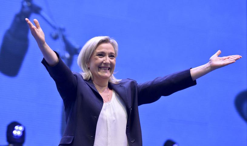 Kandydatka na prezydenta Francji liderka skrajnej prawicy Marine Le Pen /AFP
