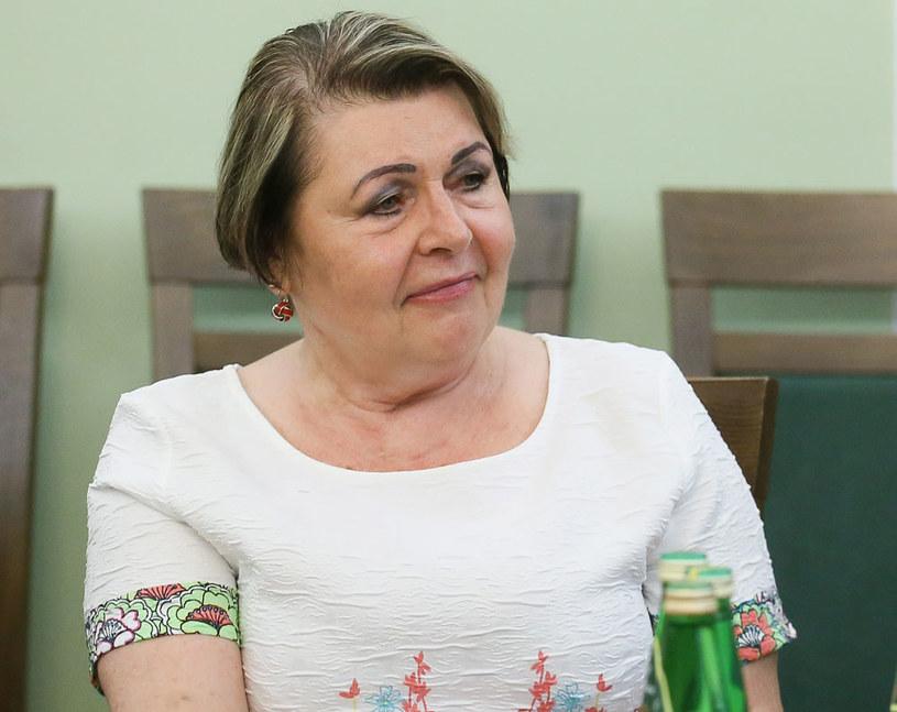 Kandydatka PiS do KRRiT Elżbieta Więcławska-Sauk /Tomasz Gzell /PAP