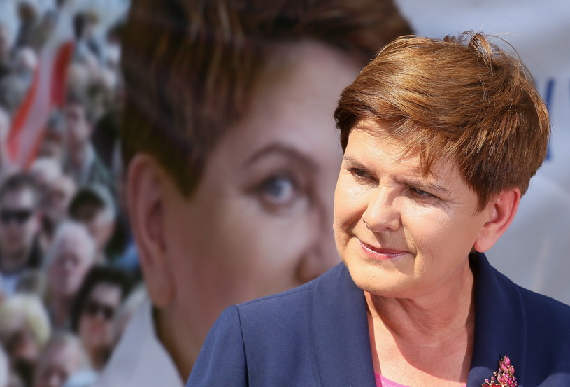 Kandydatka PiS na premiera Beata Szydło /Paweł Supernak /PAP