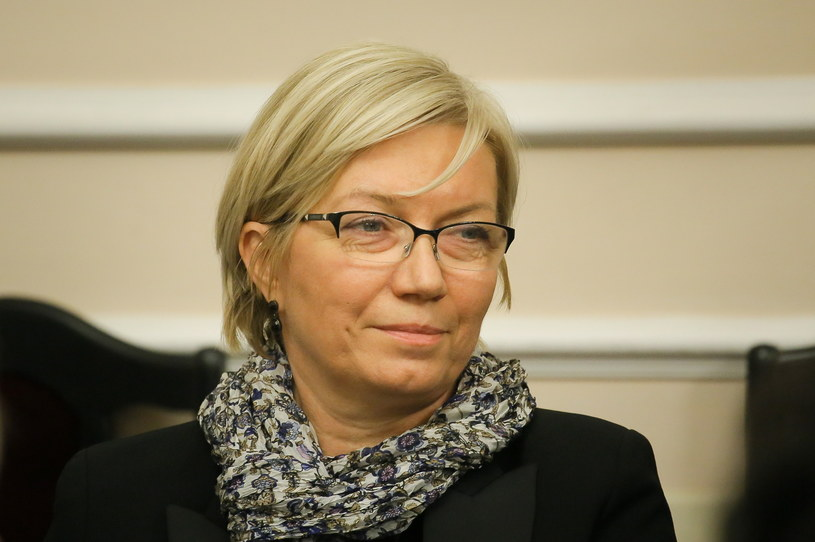 Kandydatka PiS na sędziego Trybunału Konstytucyjnego Julia Przyłębska /Pawel Supernak /PAP