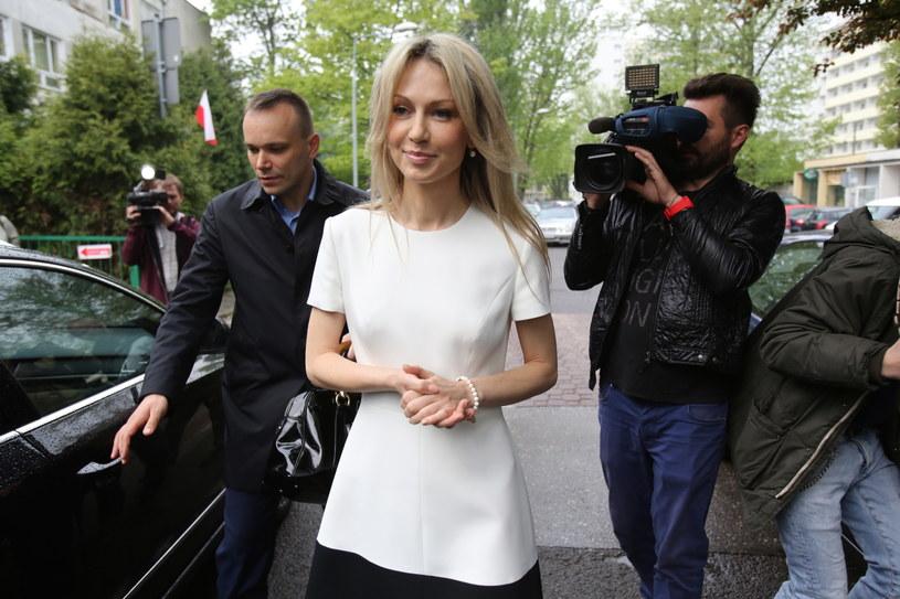 Kandydatka SLD - Magdalena Ogórek /Leszek Szymański /PAP