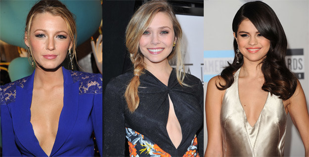 Kandydatki na Carrrie Bradshaw: Blake Lively, Elizabeth Olsen, Selena Gomez /Getty Images/Flash Press Media