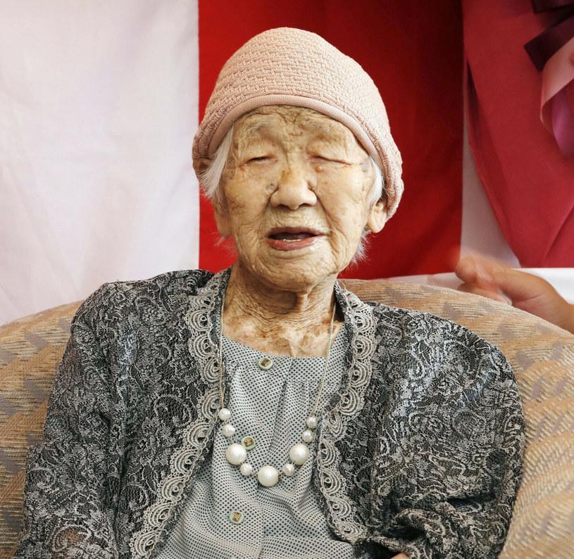 Kane Tanaka to obecnie najstarsza żyjąca kobieta /East News
