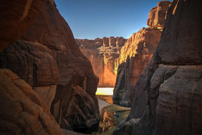 Kanion Guelta d'Archei na wyżynie Ennedi /123RF/PICSEL