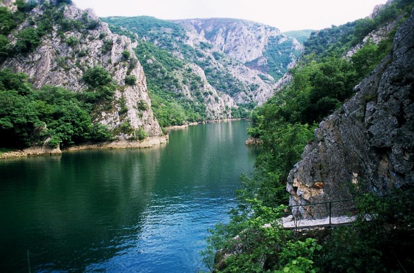 Kanion Matka to skarb macedońskiej przyrody /East News