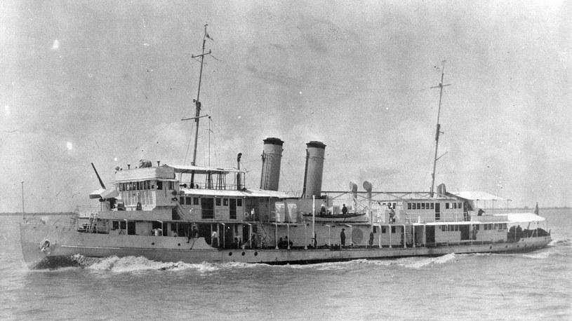 """Kanonierka rzeczna USS """"Panay"""" /US Navy Archives /INTERIA.PL/materiały prasowe"""
