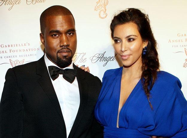 Kanye West był świadkiem na sprawie rozwodowej Kim Kardashian fot. Steve Mack /Getty Images/Flash Press Media