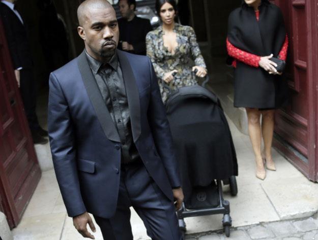 Kanye West chce chronić rodzinę /arch. AFP