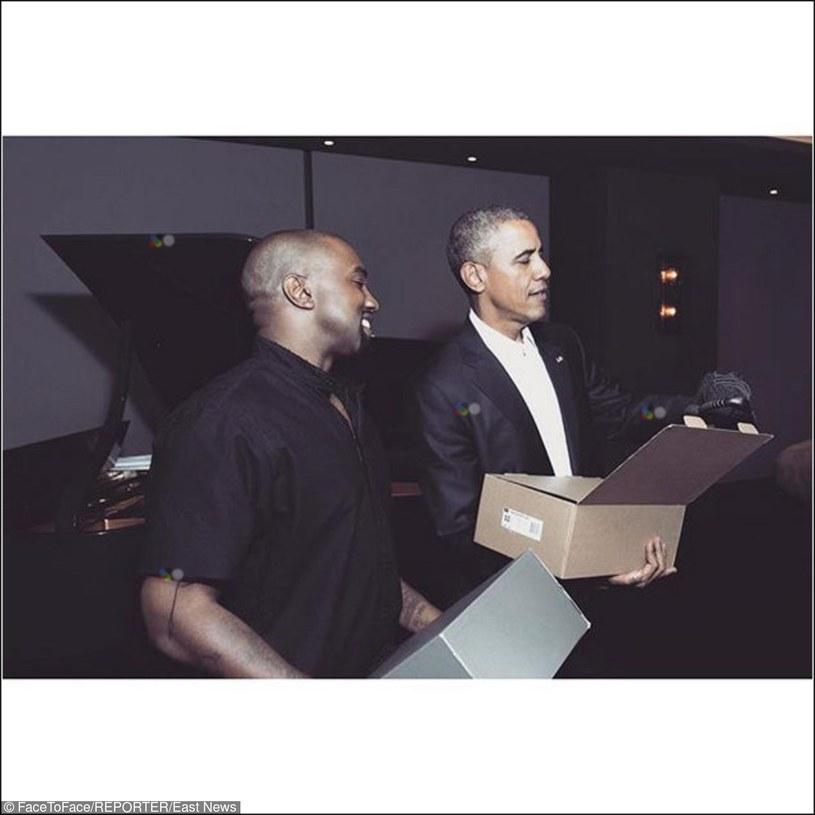 Kanye West i Barack Obama /FaceToFace /Reporter