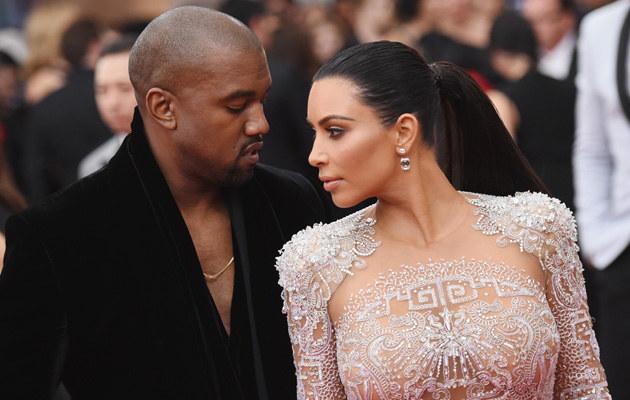 Kanye West i Kim Kardashian znów zostaną rodzicami! /Mike Coppola /Getty Images