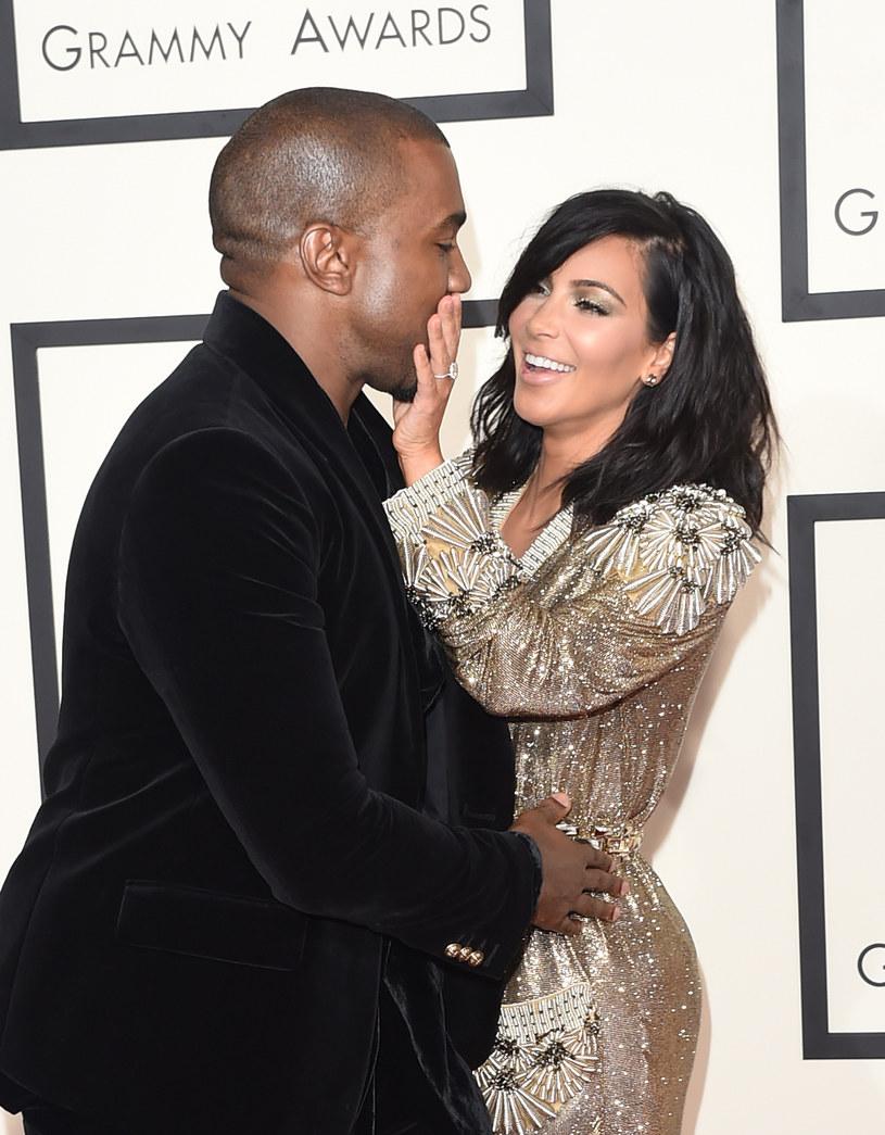Kanye West i Kim Kardashian /Jason Merritt /Getty Images